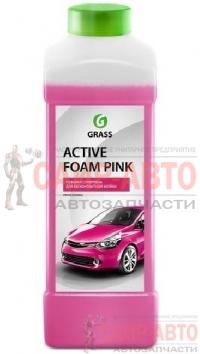Активная пена Active Foam Pink, для бесконтактной мойки, удаляет грязь, пыль, масло, следы от насеко