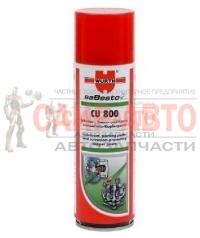 Смазка медная CU 800, устойчива к высоким и низким температурам от -40 до +1200 °С, спрей 300 мл