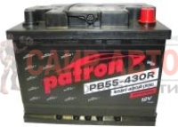 Аккумулятор PATRON POWER 12V 55AH 430A ETN 0(R+) 242x175x190mm 13.9kg