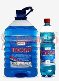 Жидкость охлаждающая 5кг - (бутылка ПЭТ) Жидкость охлаждающая Тосол А-40М -5кг (упаковка-2шт)