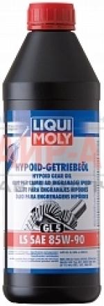 Масло трансмиссионное минеральное Liqui Moly Hypoid-Getriebeoil 85W-90 GL-5 1л