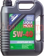 Масло моторное синтетическое универсальное Liqui Moly Leichtlauf HC7 5W-40 5л