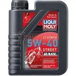 Масло моторное синт. для мотоциклов четырехтактное Liqui Moly Motorbike 4T Synth 5W-40 Street Race 1