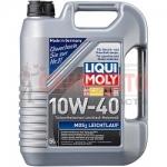 Масло моторное полусинтетическое универсальное с MoS2 Liqui Moly МoS2 Leichtlauf 10W-40 1л