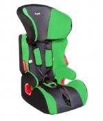 Автокресло детское SIGER КОСМО (1-2-3), 9-36 кг, зеленое
