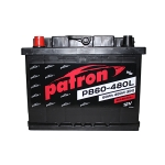 Аккумулятор PATRON POWER 12V 60AH 480A ETN 0(R+) 242x175x190mm 14.6kg