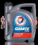 Масло моторное полусинтетическое 5л - QUARTZ 7000 10W40 A3/B4, SL/CF, MB 229.1, VW 501.01/505.00
