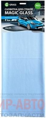 Салфетка Magic Glass, из микрофибры, для стекол и зеркалдля стекол