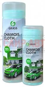Салфетка в тубе Chamois Cloth, синтетическая замша, многофункциональная влажноупакованная, 43 х 32 с