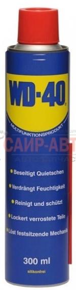 Очистительно-смазывающая смесь WD-40 300мл (коробка 12шт)